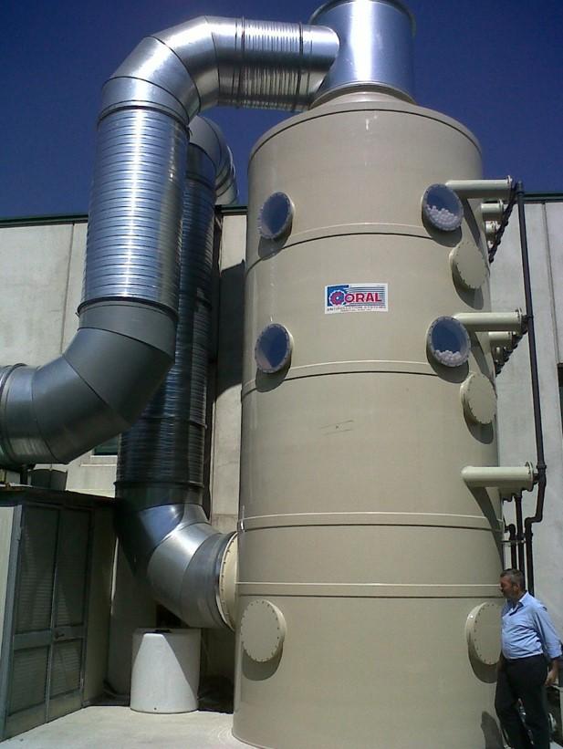 filtracion gases